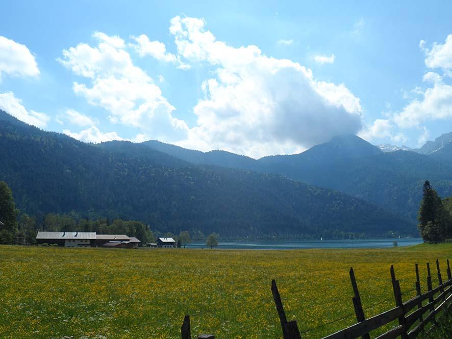 Berglandschaft rund um den Achensee