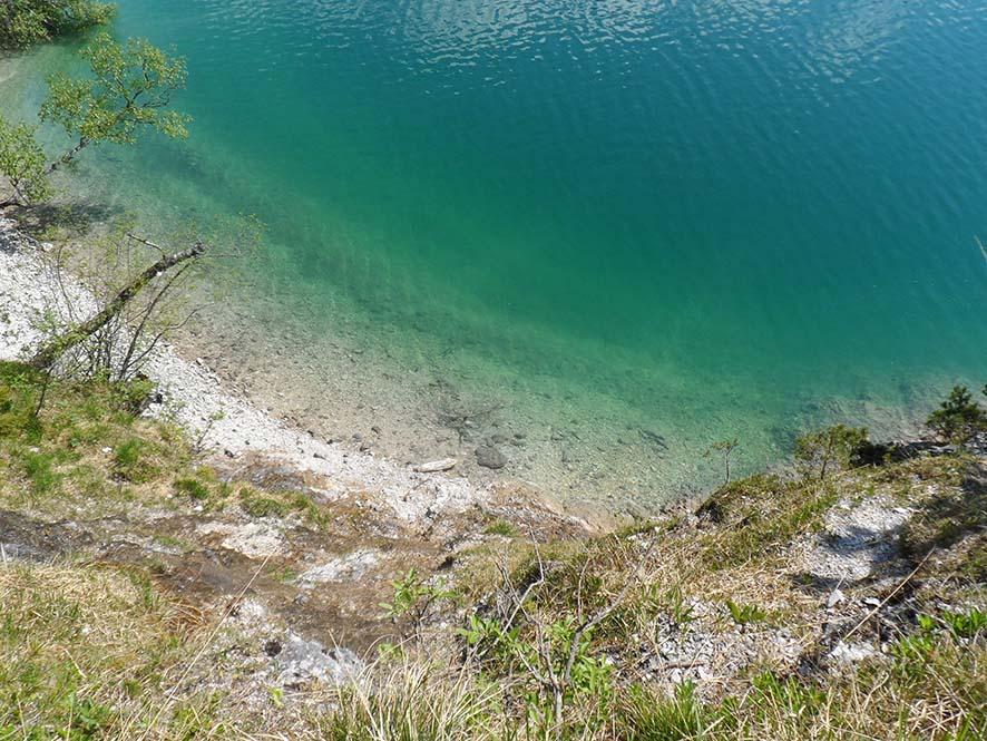 Der Achensee türkisblau