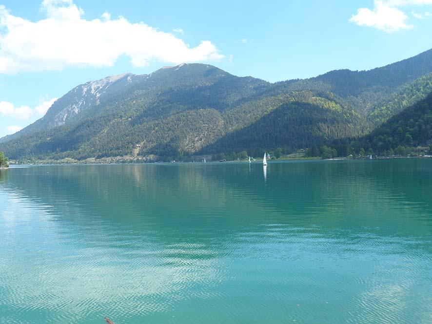 Segeln auf dem See