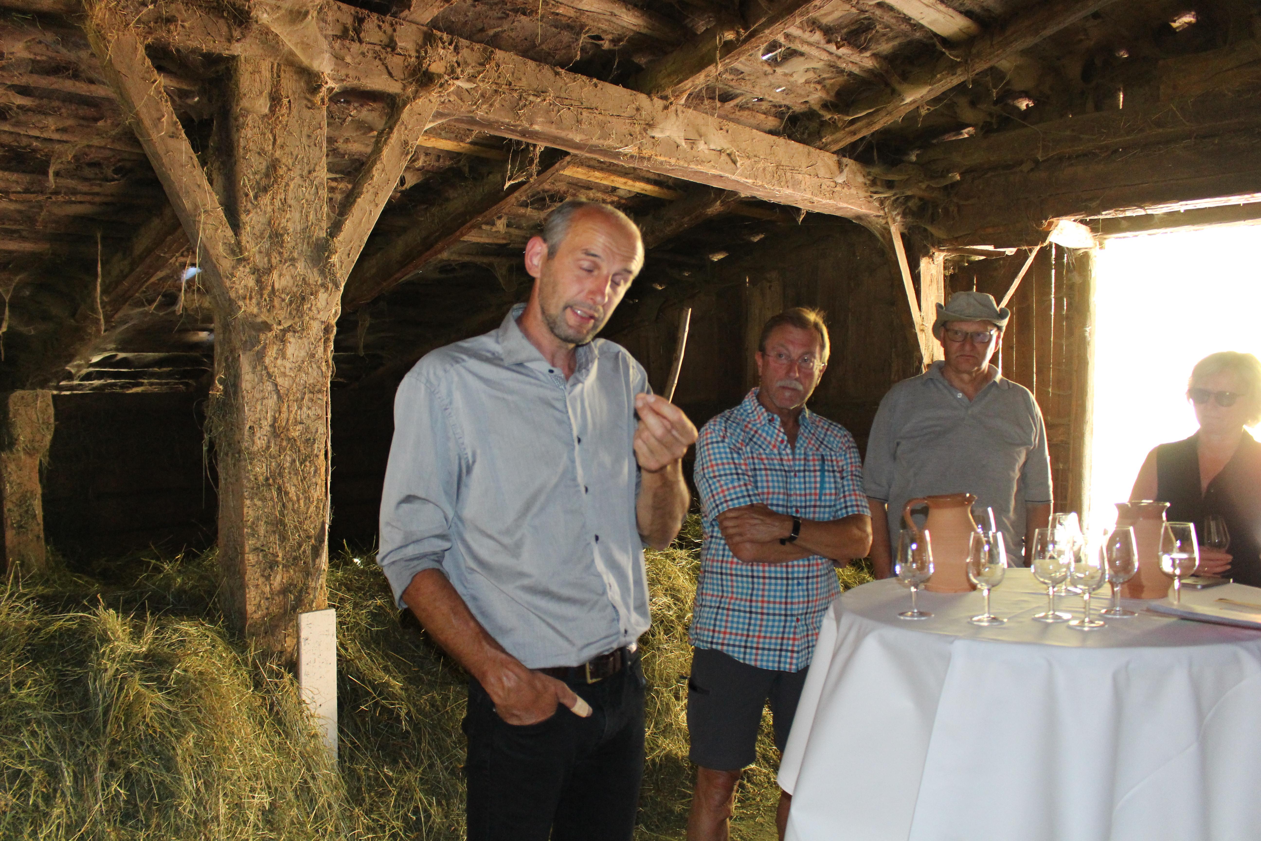 Zu Besuch bei Michael Oberhollenzers Bio-Bauernhof Moserhof in Steinhaus