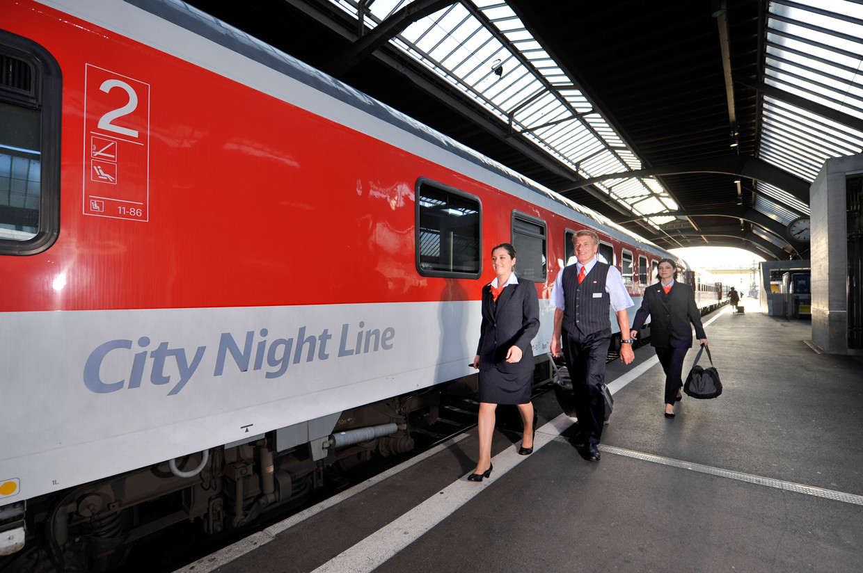 Mit Dem City Night Line In Europa Unterwegs