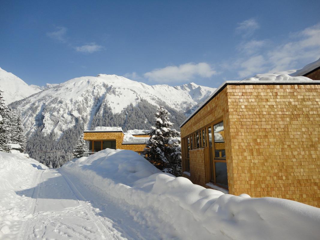 Chalet Mit Bergblick Im Gradonna Mountain Resort