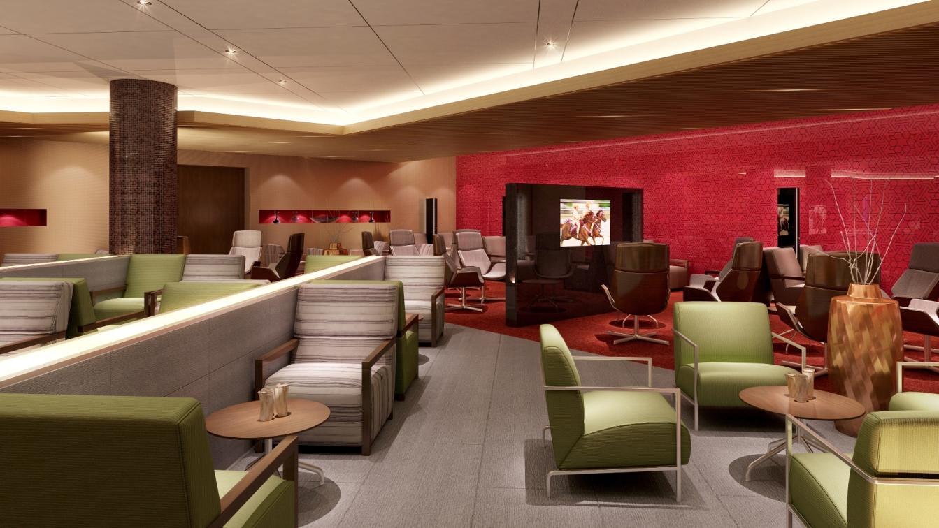 Majan Lounge Am Flughafen Muscat