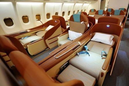 """Der """"Beste Business Class Sitz Der Welt"""" Hoch Zwei:  Bereits Zum Zweiten Mal Erhält Oman Air Die Begehrte Skytrax-Auszeichnung Für Das Business Class Produkt In Der A330-Flotte"""
