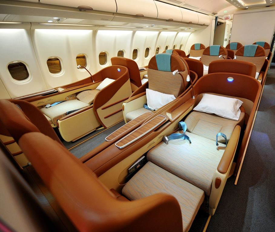 Oman Air Business Class Seats