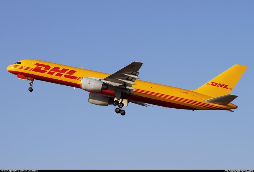 K800 DHL Air Boeing 757 200