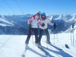 Skispaß am Mölli