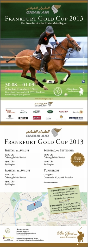 Oman Air Frankfurt Gold Cup 2013
