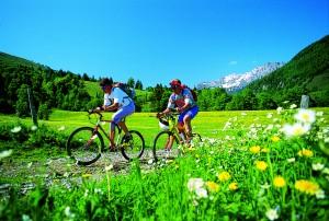 Tolle Radwege im Osttirol