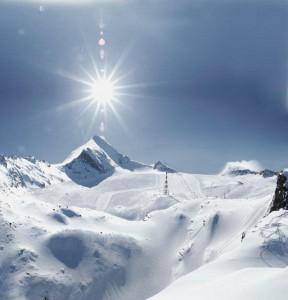 Der Gletscher Kitzsteinhorn - Gletscherbahnen Kaprun
