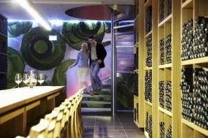 Der Weinkeller des Hotel Alpenrose lässt keine Wünsche offen