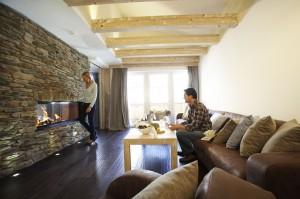 Luxuriöse Zimmer und Appartments lassen einen im Hotel Alpenrose den Alltag vergessen