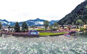 Schwimmstart-Ironman-70.3-Zell am See-Kaprun