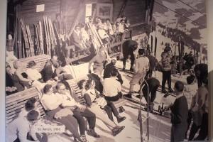 Der Anfang des Skitourismus in St. Anton Anfang der 60er JAhre