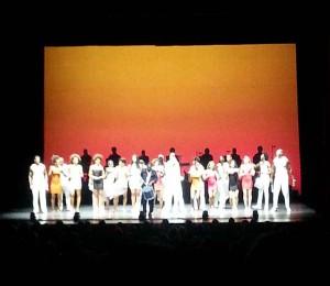 Das Ensemble der Samba Show