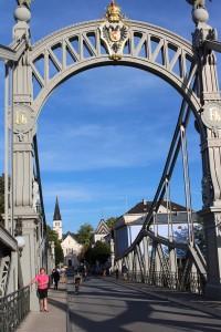 Die Länderbrücke zwische Österreich und Bayern (erbaut 1902/03) ist eine der schönsten Brücken Europas