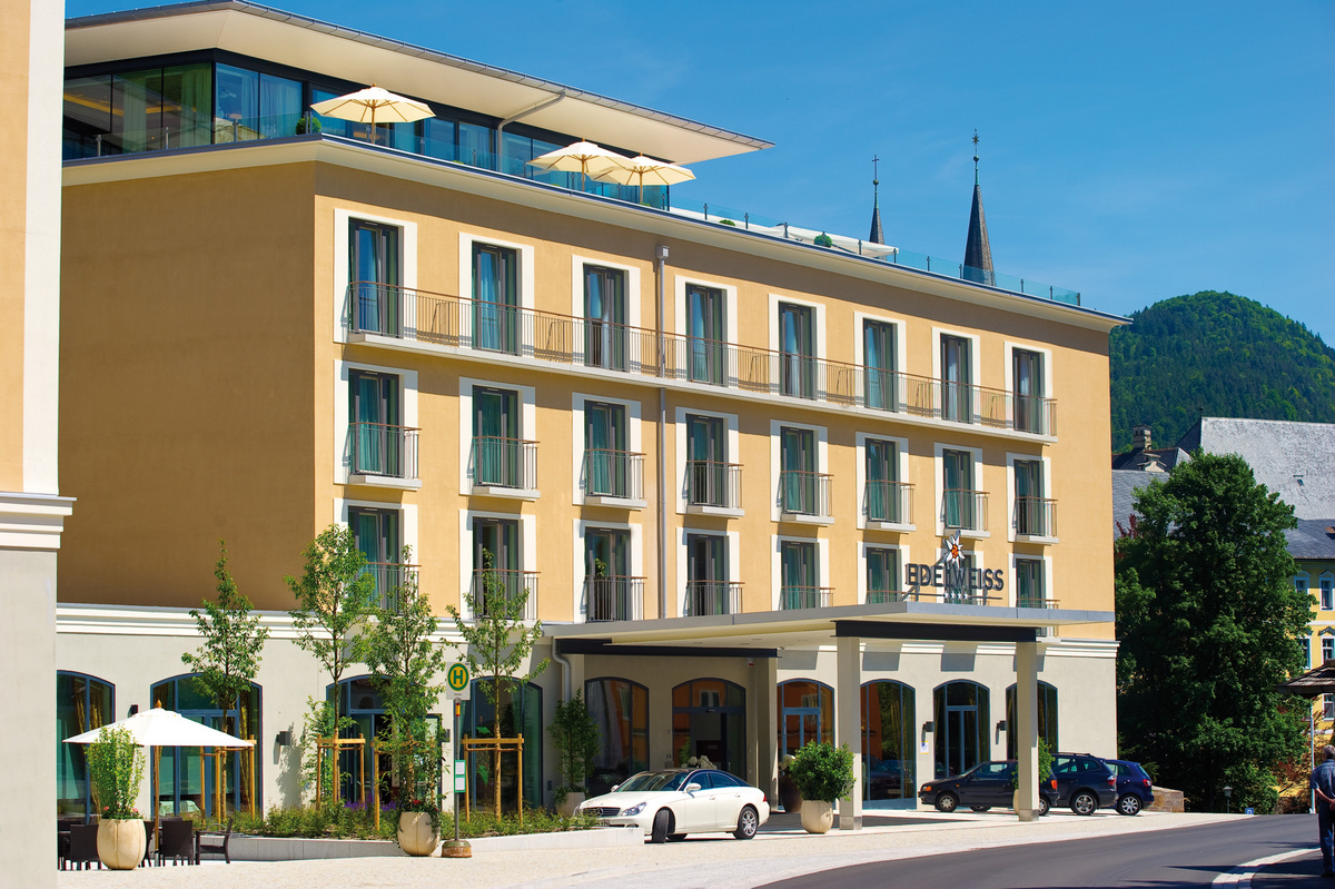 Aussenansicht 1  EDELWEISS HOTEL Berchtesgaden