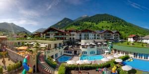 Kinderhotel Alpenrose heißt wilkommen