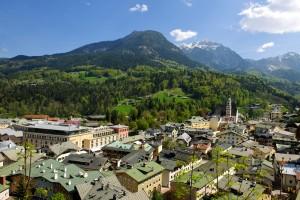 Blick von der Terasse des Hotels Edelweiss Berchtesgaden mit Watzmann © Edelweiss Hotels
