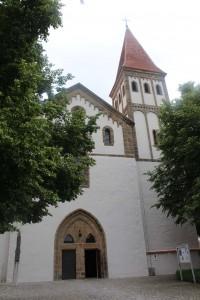 Wege der Christianiesierung fürhten über Franken - Kloster Heidenheim