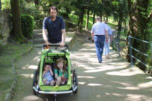 Unterwegs mit dem Kinderwagen