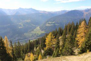 Beim Wandern auf der Gleckalm tuen sich immer wieder atemberaubende Anblicke auf.