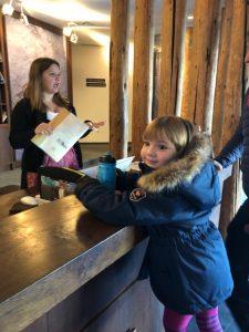 Persönlicher Check in im Hotel Alpenrose