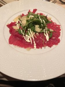 Das Essen im Hotel Alpenrose ist immer ein Genußß