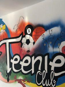 Für die großen Kinder gibt es einen eigenen Bereich: Den Teenieclub