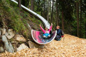 Rutschen in der Wildkogel Arena - Ein Spaß für die ganze Familie