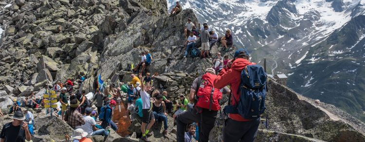 Weg In Die Freiheit: Alpine Peace Crossing