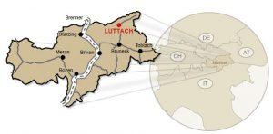 Anreise nach Luttach