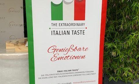 EATALY München –Kulinarischer Sponsor  Der Wein-und Genussmesse Gourmet's Italia 2019