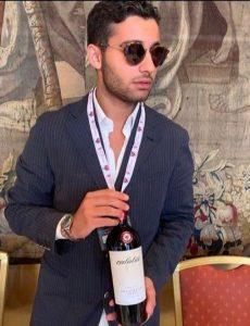 Die Calatio Weinverkostung schmeckt von einem charmanten Italiener serviert besonders gut