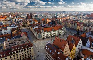 In Breslau bieten sich stets neue Blicke ohne dass man die Orientierung verliert. © POT